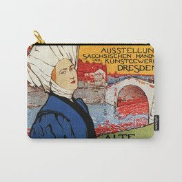 German artisanal art expo Dresden 1896 Carry-All Pouch