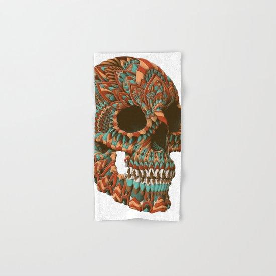Ornate Skull (Color Version) Hand & Bath Towel