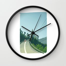 Canada - The Travellers Wall Clock