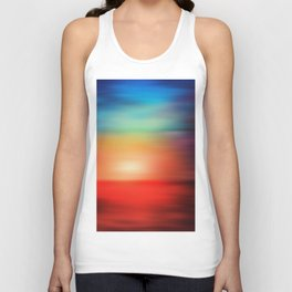 Abstract Landscape 18 Unisex Tank Top
