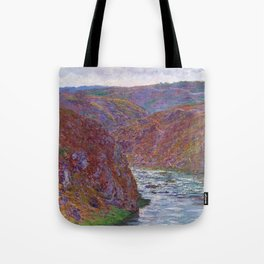 12,000pixel-500dpi - Claude Monet - Valley of the Creuse, Gray Day - Digital Remastered Edition Tote Bag