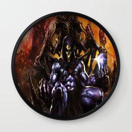 king of skulls Wall Clock