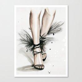YSL shoes Canvas Print