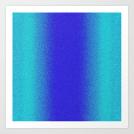 Re-Created Interference ONE No. 14 by Robert S. Lee Art Print