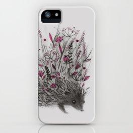 HEDGEHOG (grey) iPhone Case