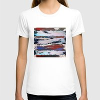 cityscape T-shirts featuring Cityscape  by MonsterBrown