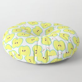 Summer apple Floor Pillow