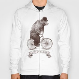 Bears on Bicycles Hoody