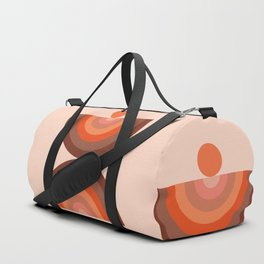 Abstraction_SUN_Rainbow_Minimalism_002 Duffle Bag
