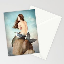 the soul is full of longing Stationery Cards