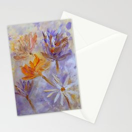 Purple Blaze Stationery Cards
