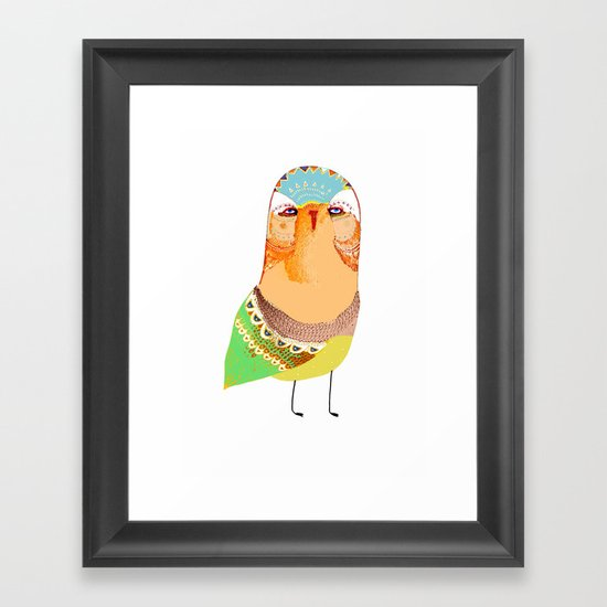 The Rarest Owl Framed Art Print