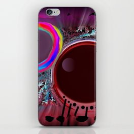 Sidereal tablecloth  bis iPhone Skin