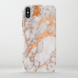 Copper Marble iPhone Case