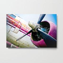 C160 Military Transport Airplane Metal Print