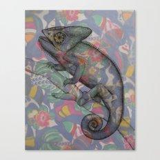 Chameleon(4) Canvas Print