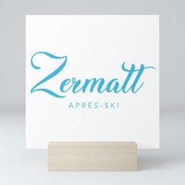 ZERMATT Mini Art Print