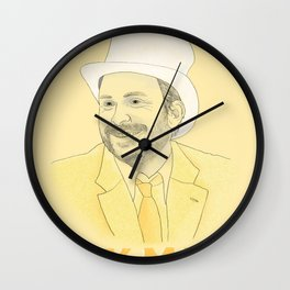 Day Man Wall Clock