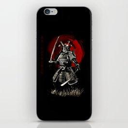 Bushido Samurai iPhone Skin