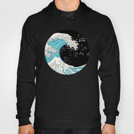 The Great Wave (night version) Hoody