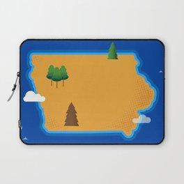 Iowa Island Laptop Sleeve