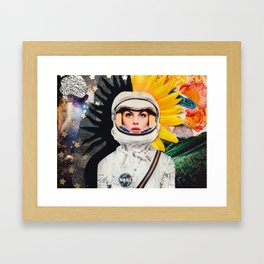 A Conflicted Jean Framed Art Print