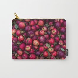 Red summer apples pattern Carry-All Pouch
