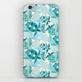 Dream of Blue iPhone Skin