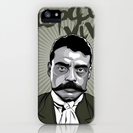 Emiliano Zapata - Trinchera Creativa iPhone Case