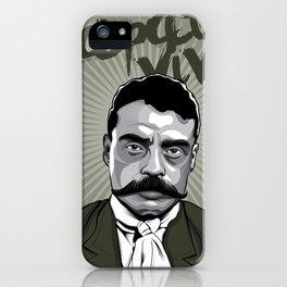 Emiliano Zapata - Trinchera Creativa iPhone Case
