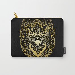 Tribal ethnic wolf Carry-All Pouch
