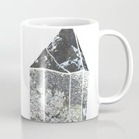 crystal Mugs featuring Crystal by Beatricepl