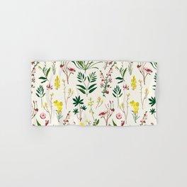 WILDFLOWER STUDY Hand & Bath Towel