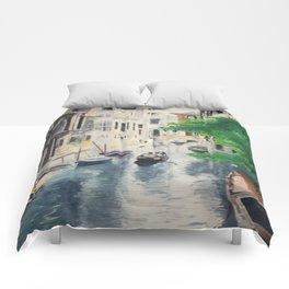 Venice digital print Comforters