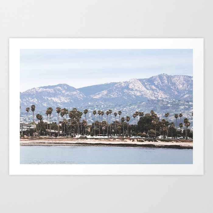 Santa Barbara Kunstdrucke