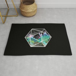 Dice plant Rug