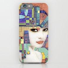 Nouveau Girl 2 (aged finish) iPhone 6s Slim Case