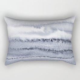 WITHIN THE TIDES - VELVET GREY Rectangular Pillow