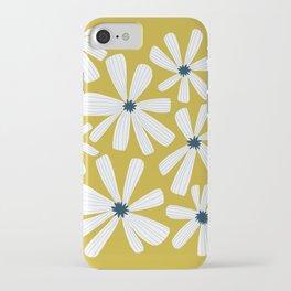 Retro Blooms iPhone Case