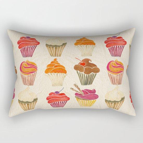 Cupcakes Rectangular Pillow