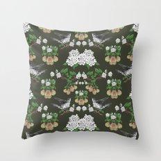 Pear Thief Throw Pillow