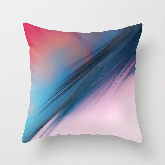 Feather Fiesta Throw Pillow