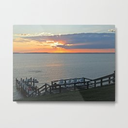 Chesapeake Beauty I Metal Print