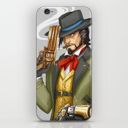 Outfit Swap (Hanzo) iPhone Skin