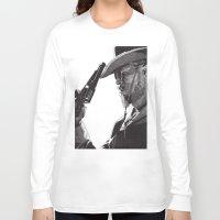 django Long Sleeve T-shirts featuring Django by Rik Reimert