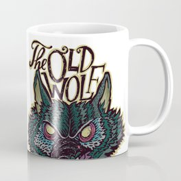 Head Old Wolf Coffee Mug