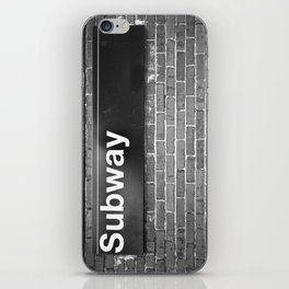 Subway iPhone Skin