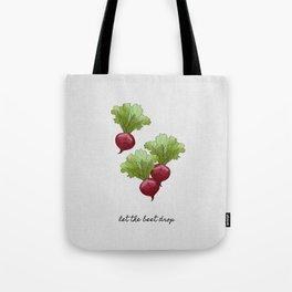 Let The Beet Drop Tote Bag
