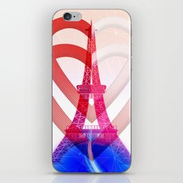PARIS LOVE iPhone Skin