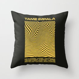 Tame Impala Currents Design Throw Pillow